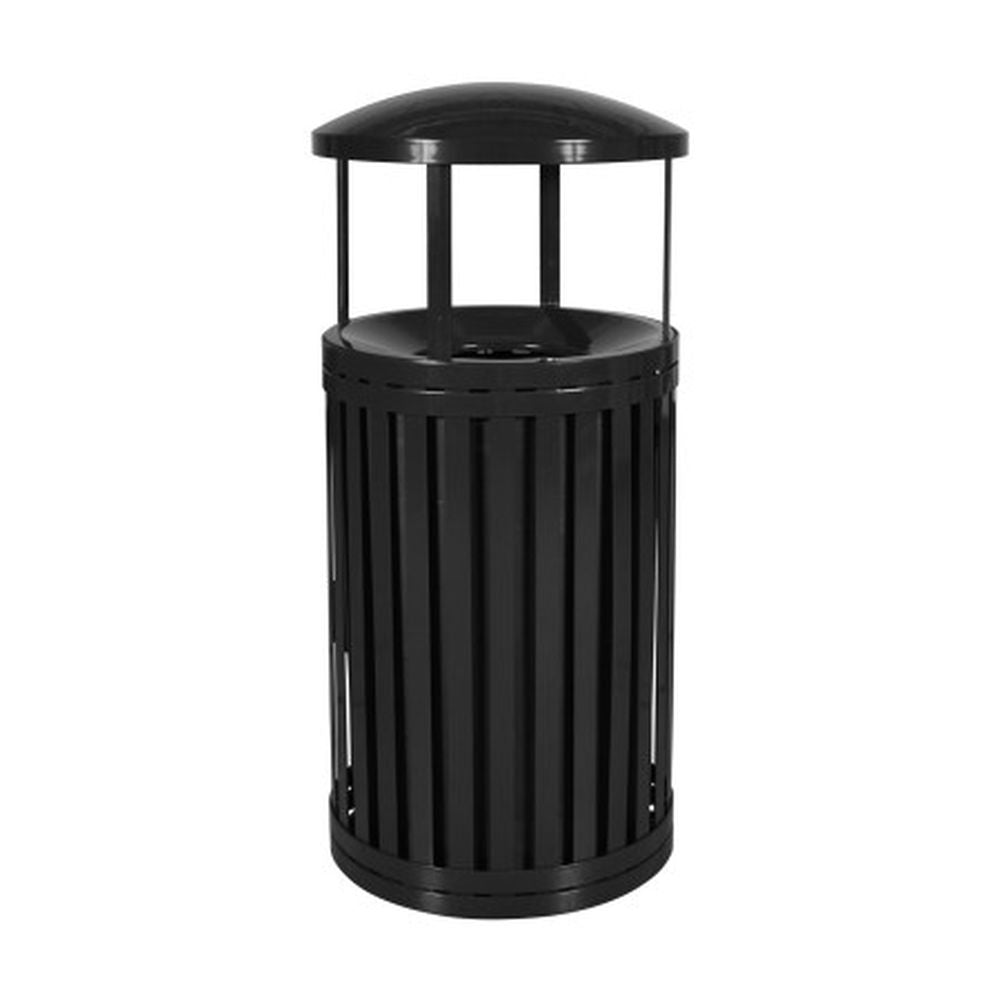 Streetscape Trash Outdoor Receptacle (45 Gal.) - SCTP-40 D ND