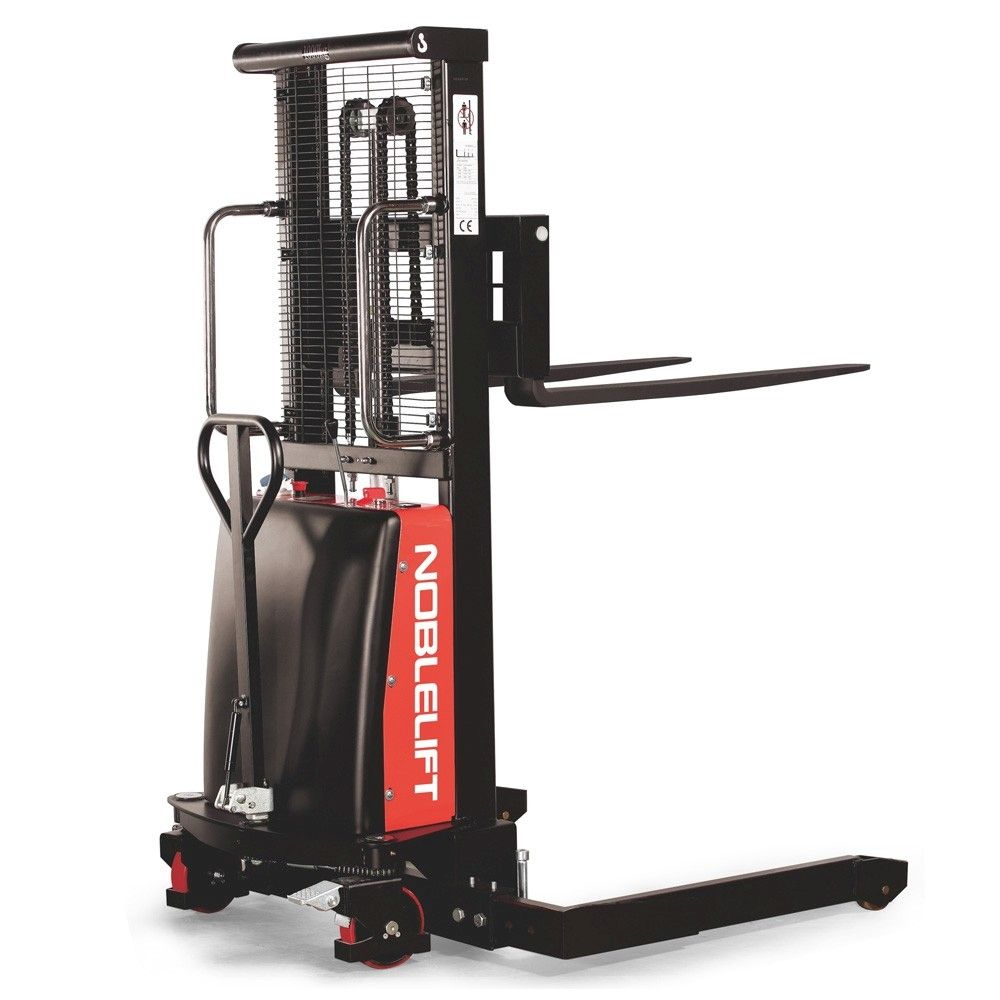 Semi-Electric Straddle Stacker
