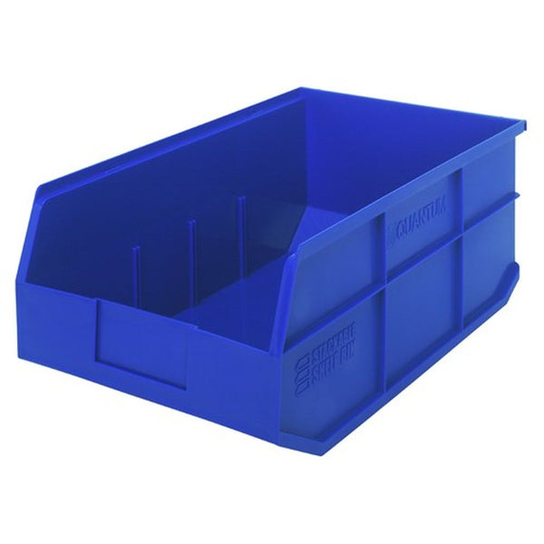 "Stackable Shelf Bins 11""W x 18""L (6 Pack)"