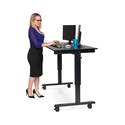 Adjustable Crank Stand Up Desk (59