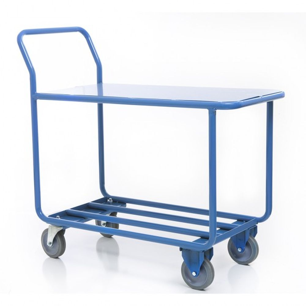 Flat Top Stocking Cart w- Handle