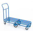 "6 Wheel Stocking Cart (55""L)"