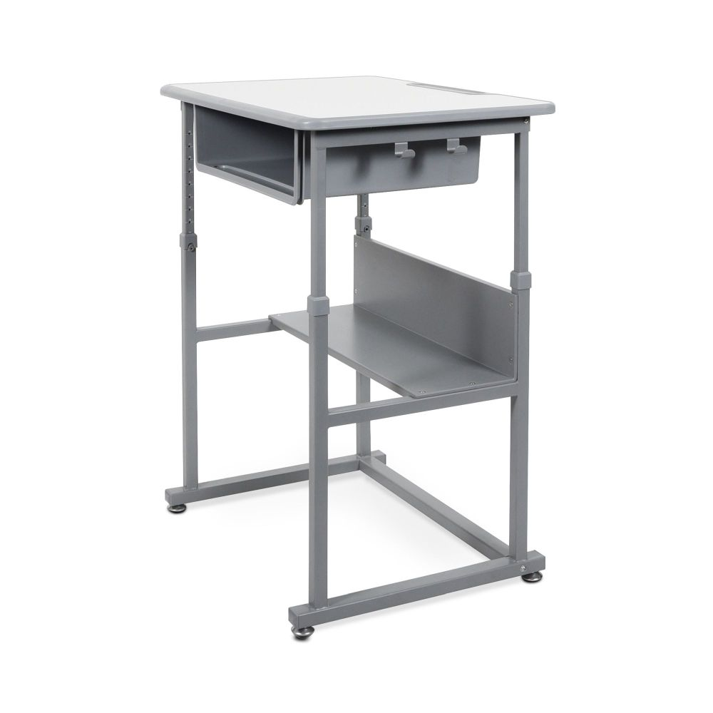 Manual Height Adjustable Student Desk
