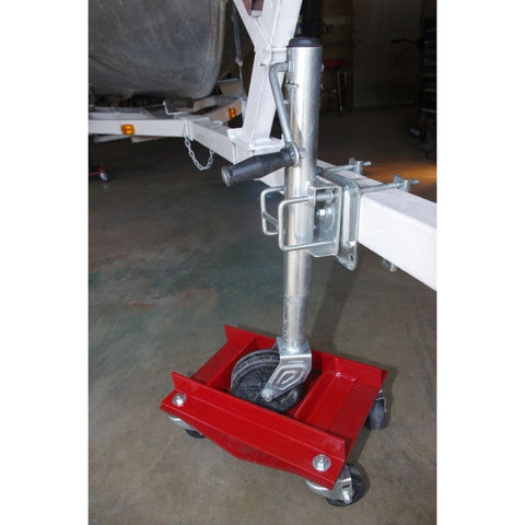 Trailer Jack Auto Dolly Attachment