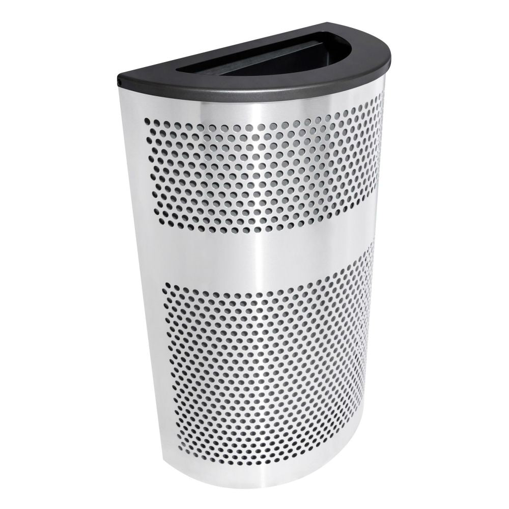 Venue Collection Half Round Waste Receptacle (33 Gallon)