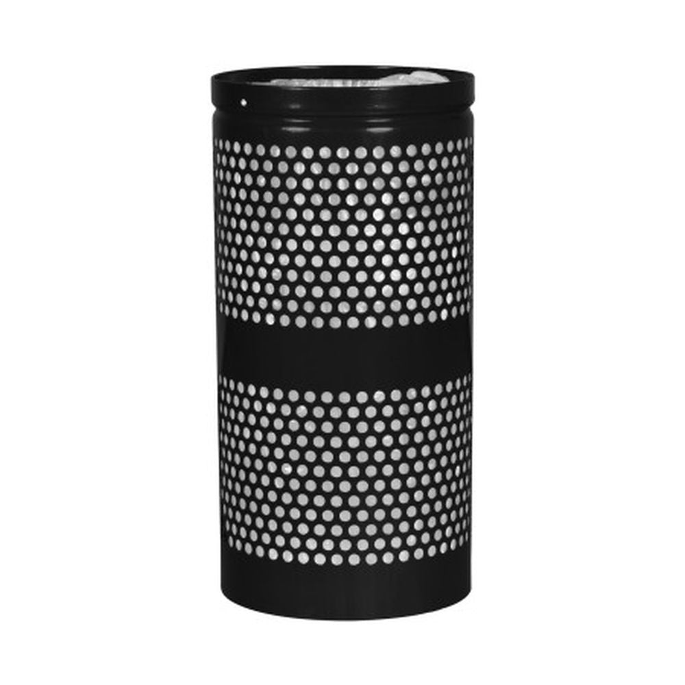 Landscape Series Perforated Waste Receptacle (10 Gallon)