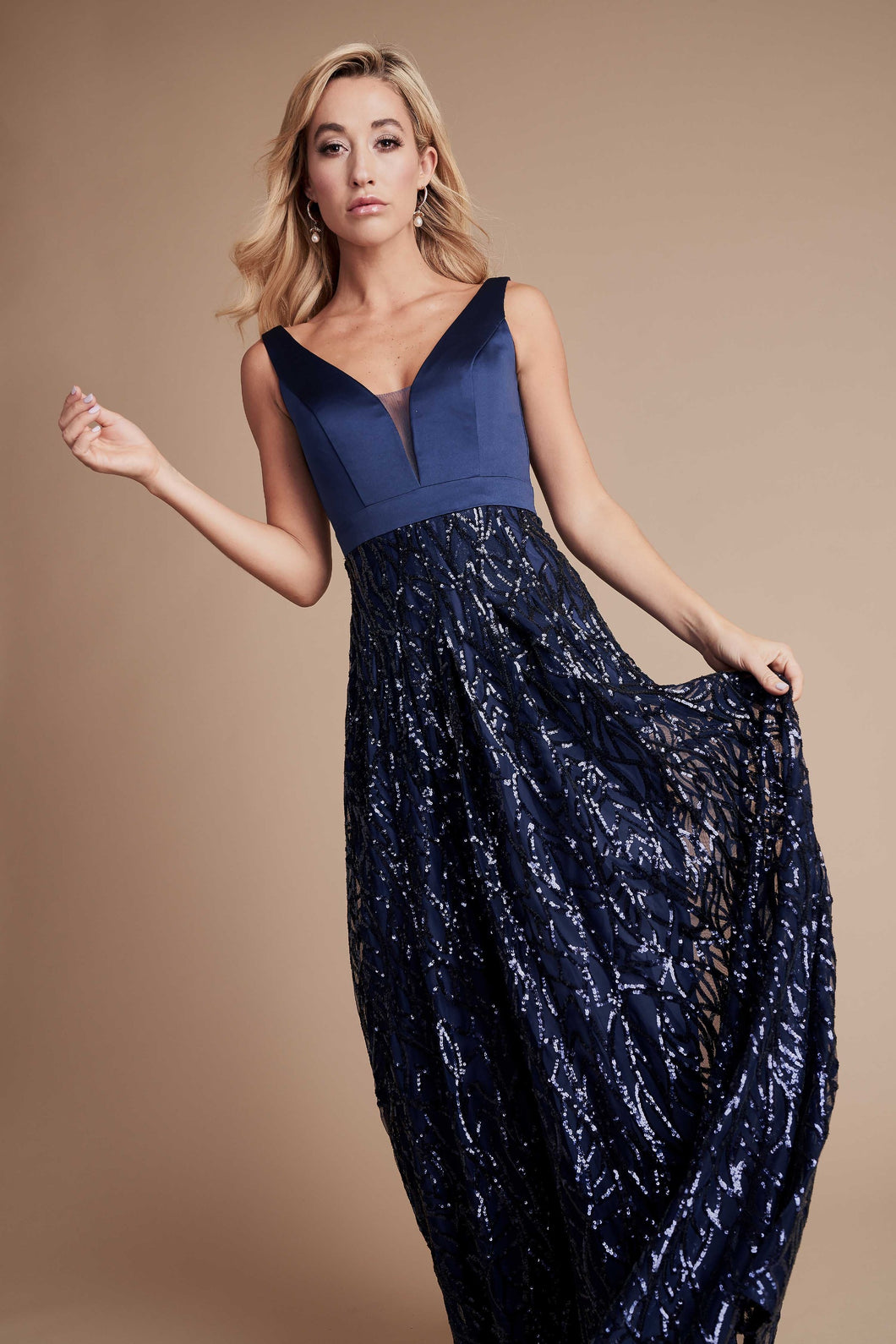 Navy Maxi Gown