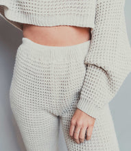Load image into Gallery viewer, loungewear sets women waffle knit loungewear