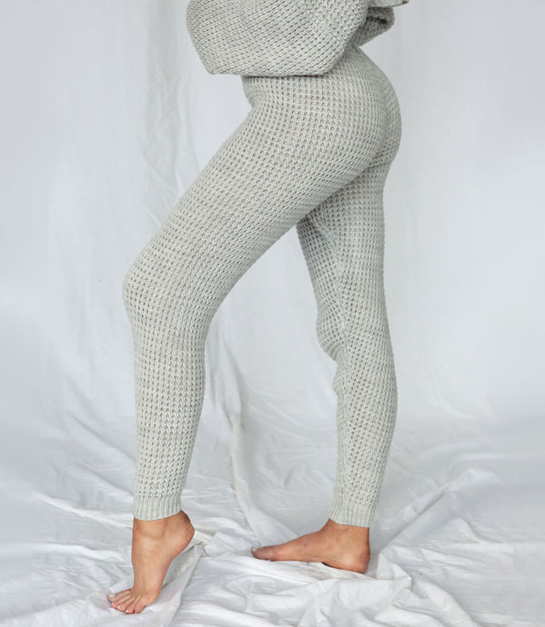 loungewear sets women waffle knit loungewear