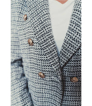 Load image into Gallery viewer, Tweed Jacket with gold buttons