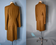 Load image into Gallery viewer, Vintage 80s Plaid Power Suit, Unlabeled Thierry Mugler MEDIUM