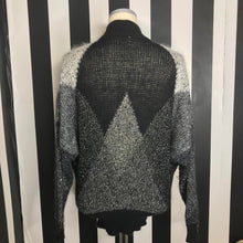 Load image into Gallery viewer, Sparkly Oversized/Chunky Knit 80s Krizia Maglia Sweater-Quinby Vintage