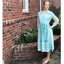 Load image into Gallery viewer, Vintage 70s Alfred Shaheen Dress, LARGE