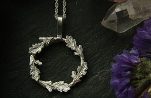 Oak Leaf Protection Necklace - Andune Jewellery