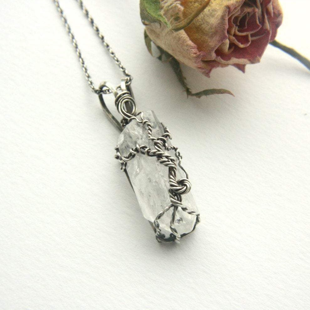 Tree of Life Crystal Necklace - Andune Jewellery