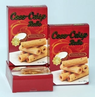 Coco-Crisp: Thai Rolls without the fortune - 15 pcs. / box Flavor: Coconut