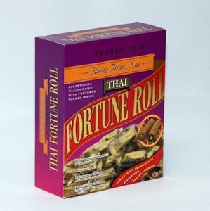 Thong Tham Nai, Thai Fortune Roll - 100g. / box Flavor: Original