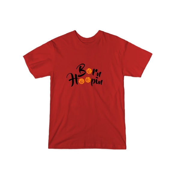 Born Hoopin T-Shirt (Black Logo)