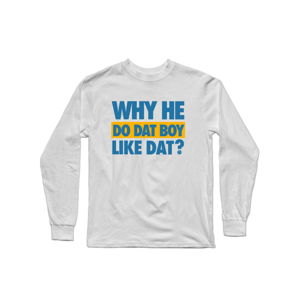WHDDBLD - Blue/Yellow Longsleeve