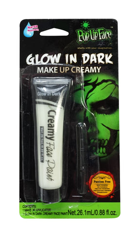 Glow in Dark Make Up Cream