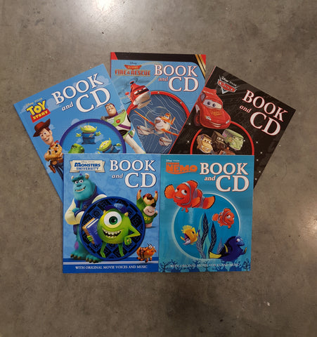 Disney Story Books With CD