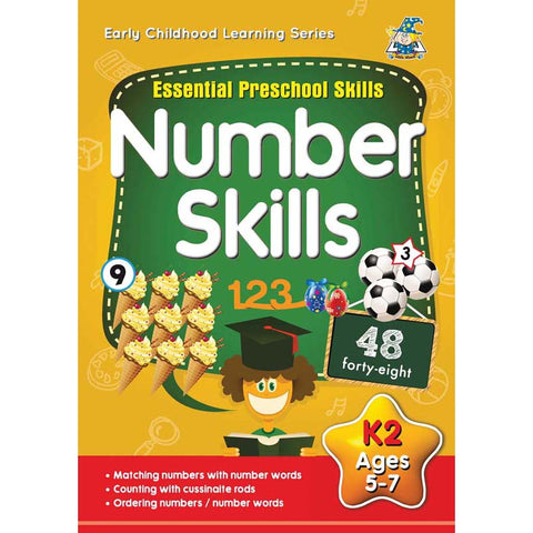 Greenhill Activity Book 5-7yr Number Skills
