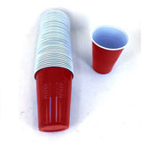 BEER PONG PINT CUPS 50PK RED