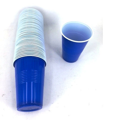 BEER PONG PINT CUPS 50PK BLUE