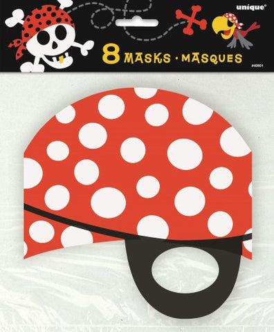 Pirate Party Masks