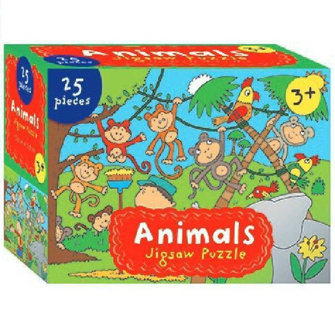 Jigsaw Puzzle Animals 25pc