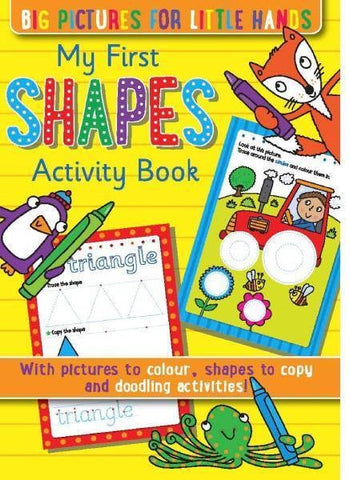 My First Shapes Activity Book