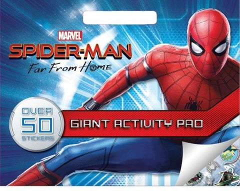 Spiderman Far From Home Giant Activity Pad