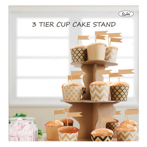 Kraft 3 tier cup cake stand