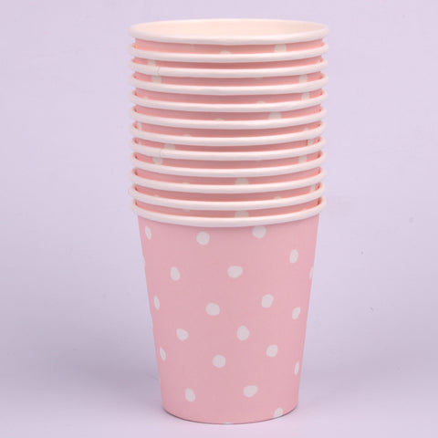 Pink Paper Cups 200ml