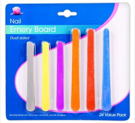 Nail emery boards 24pk