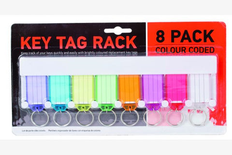 Key Tag Rack 8 pack