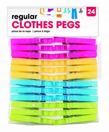 Clothes Pegs 24pk