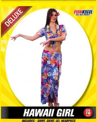 Hawaii Girl Ladies Costume