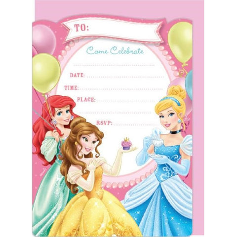 Disney Princess Invitations