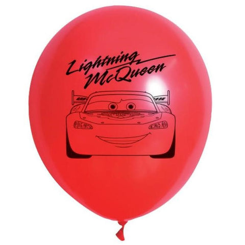 Disney Cars Printed Balloons