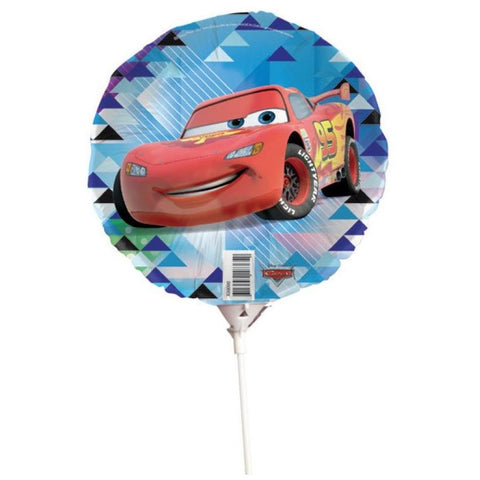 Disney Cars Foil Balloon w/Stick