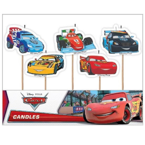 Disney Cars Candles