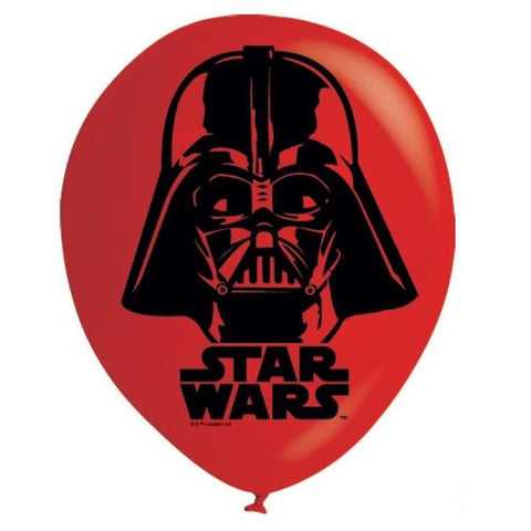 STAR WARS PRINTED BALLOONS