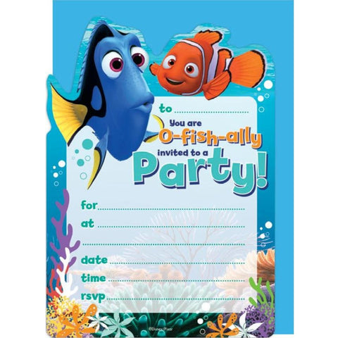 Finding Dory (Nemo) Invitations