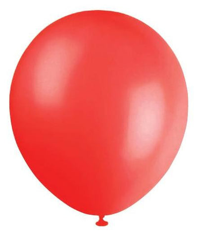 Metallic Balloons 20pk Red