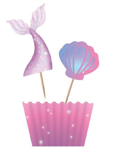 Mermaid Cupcake Kit 12pk
