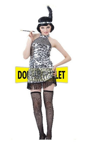 DELUXE Flapper Costume / Dress