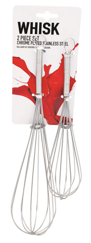 Whisk Stainless Steel 2 Piece Set