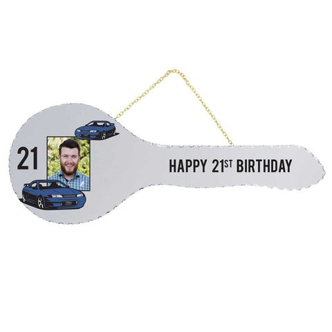 21st Key Mirror Car design