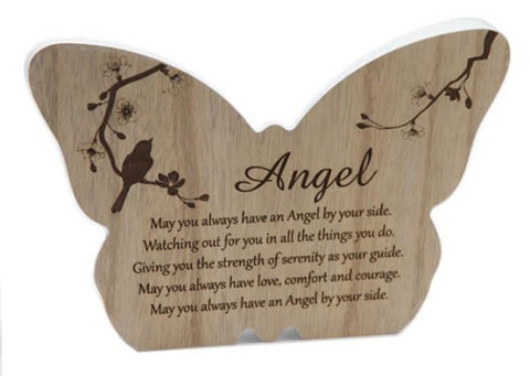 Butterfly Plaque Angel